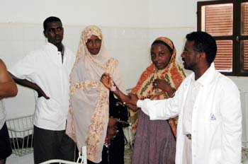 Dispensario médico, Rep. de Djibouti, áfrica