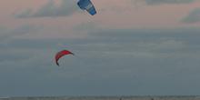 Flysurf en Maracaípe, Pernambuco, Brasil