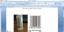 Reto: código de barras y dígito de control