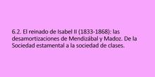 6.2. Las desamortizaciones y la sociedad de clases