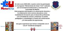 Programa Mentoractúa T.G.D 2021  C.E.I.P ADOLFO SUÁREZ