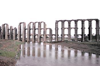 Acueducto de los Milagros - Mérida, Badajoz