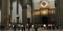 Salida principal del Duomo, Florencia