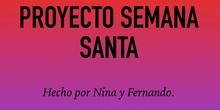 RELIGION - 6 - DOMINGO DE RAMOS - NINA Y FERNANDO