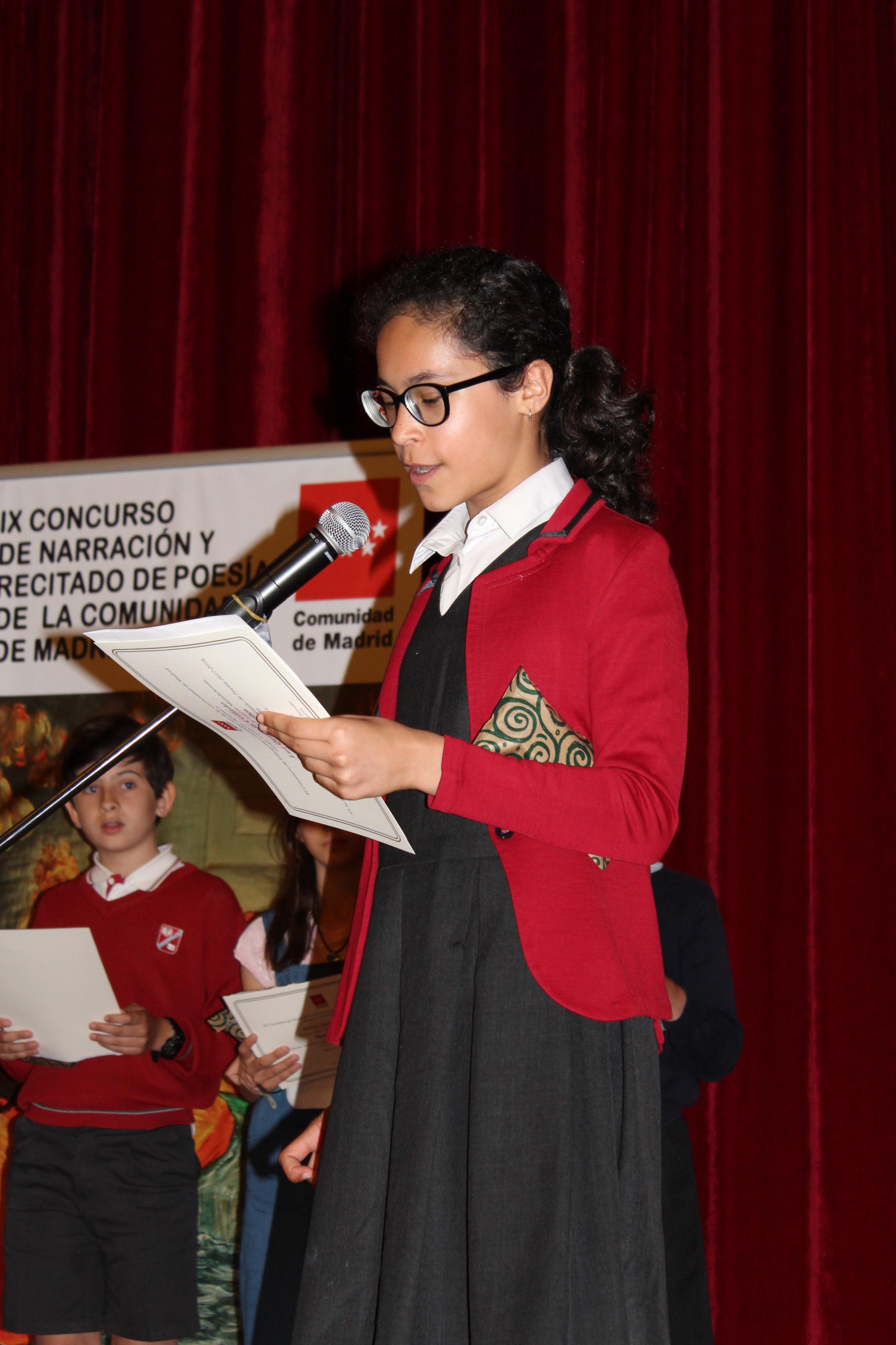 Entrega de los premios del IX Concurso de Narración y Recitado de Poesía 11