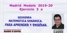 Madrid 2020 Matemáticas Modelo A 3 a