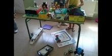 Colegío móvil: preparación de la presentación, maquetas y exposición en el centro (Fundación Créate)
