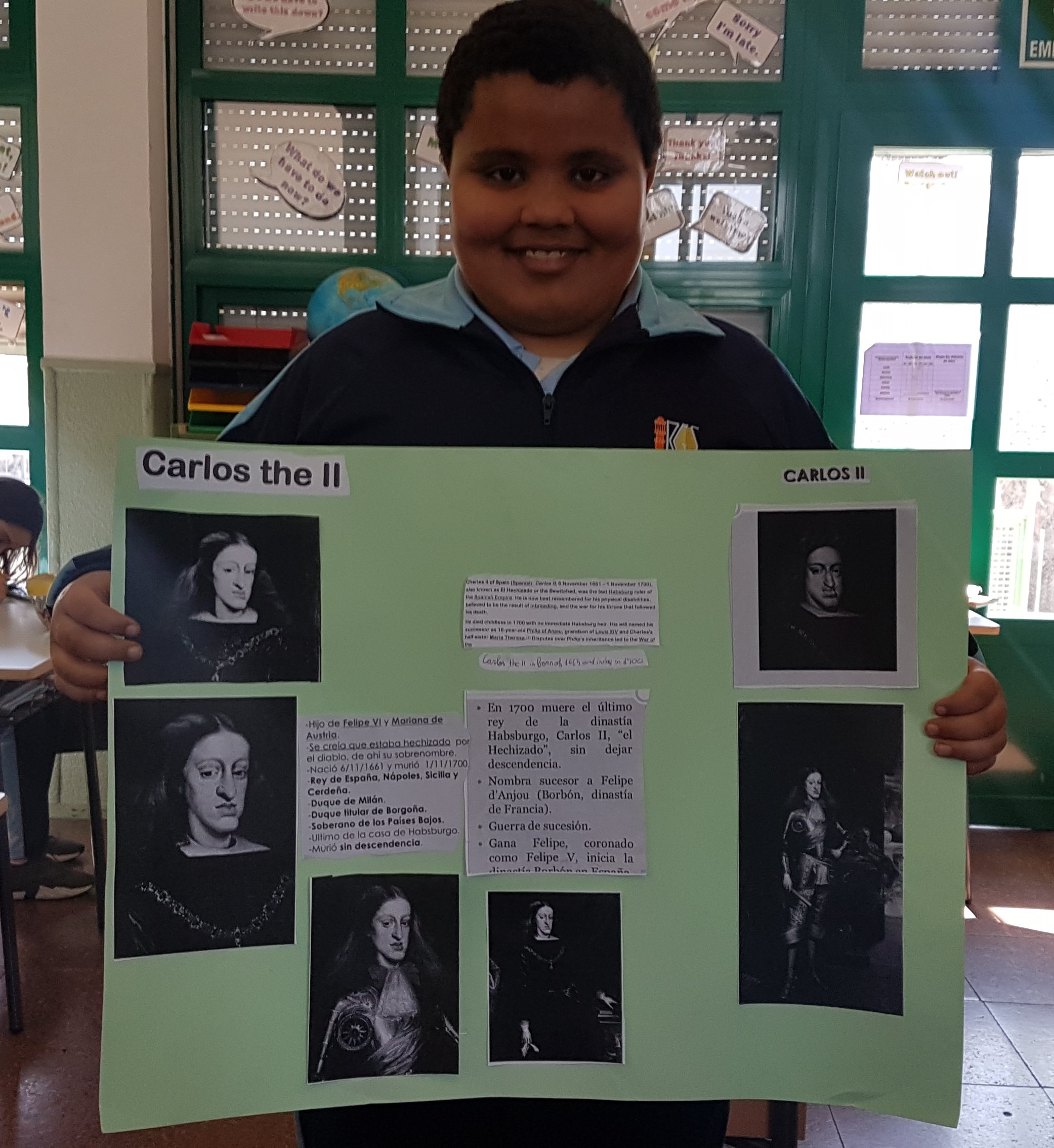 Poster Carlos II