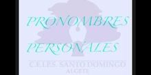 PRIMARIA 5º - PRONOMBRES PERSONALES - LENGUA Y LITERATURA