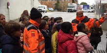 Quinto con los equipos de emergencias de las Rozas_CEIP FDLR_Las Rozas 4