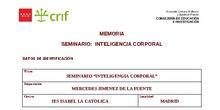 Memoria Seminario Inteligencia Corporal 18-19