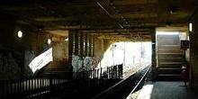 Estación subterránea del tranvía de Budapest, Hungría