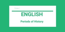 Periods of History