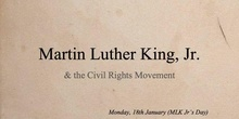 Martin Luther King Jr. & the Civil Rights Movement