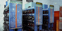 Cargadores de lámparas, Museo de la Minería y de la Industria, E