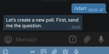 Cómo usar el bot Vote en Telegram