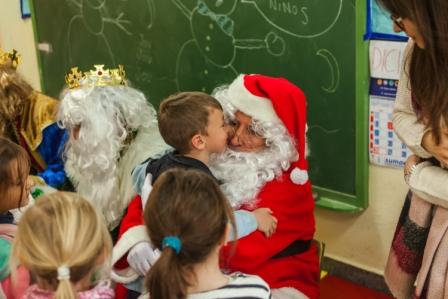 Los RRMM y Papá Noel en INF 5C 16