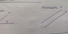 Posición relativa de dos rectas. Teoría.