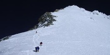 Ascenso a la cumbre sur del Everest desde el Balcón