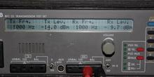 Generador y medidor de audio para dBm y dBv