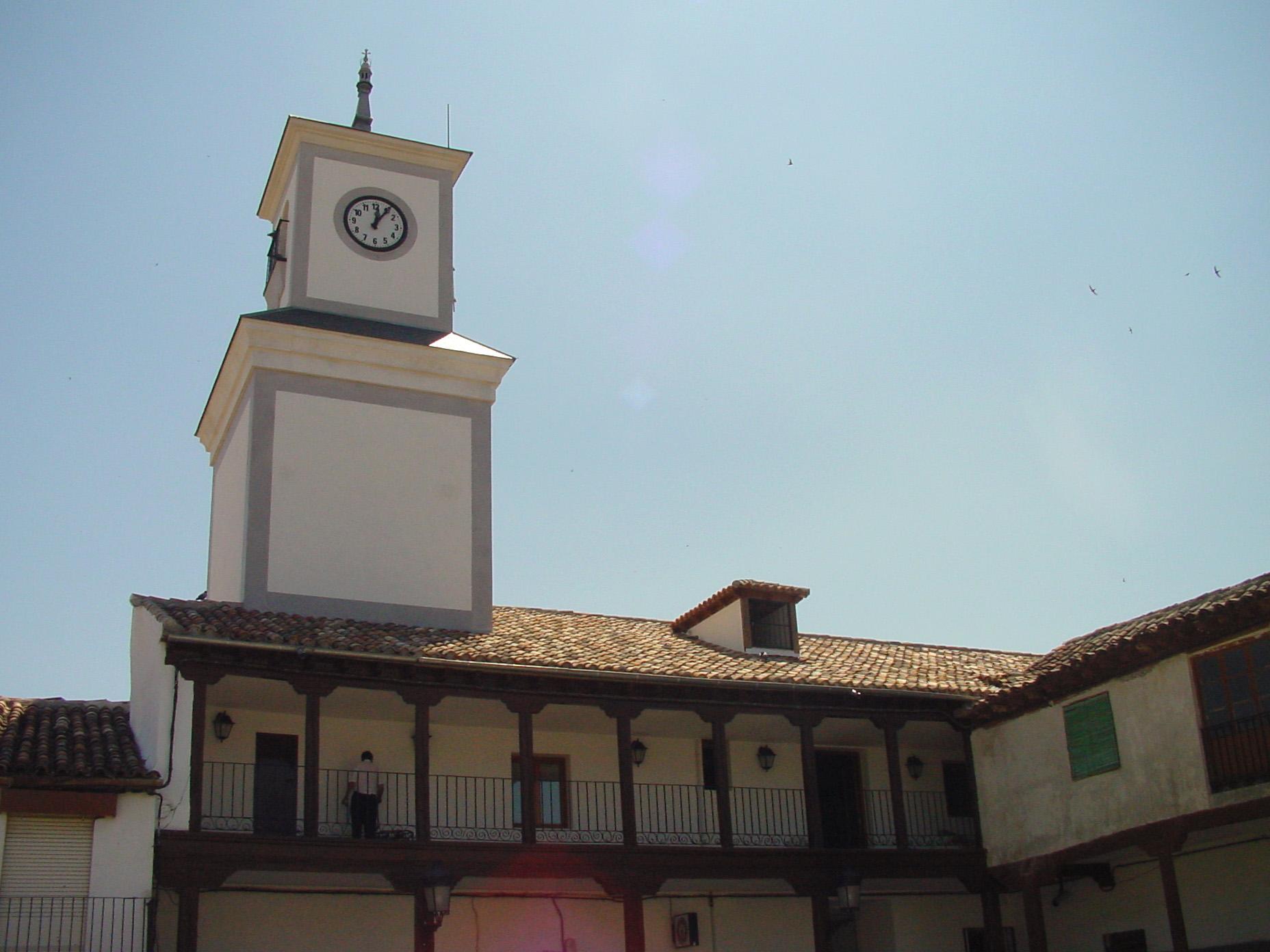 Torre del reloj en Valdemoro