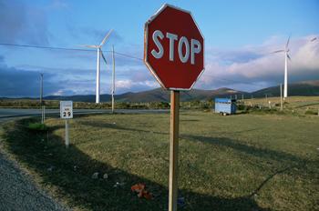 Generadores de energia eólica, Lugo, Galicia