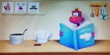 """Cuento """"Dragón aprende a cocinar"""""""