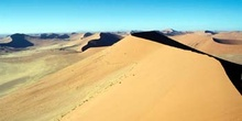Amanecer en el desierto, Namibia