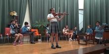 Jornadas Culturales concierto de alumnos violín