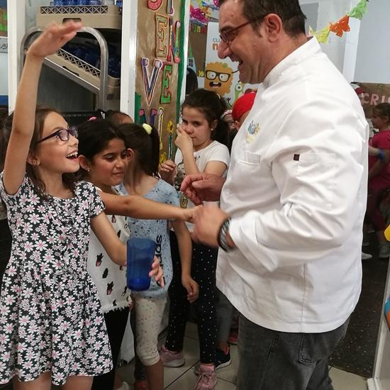Visita del chef Sergio Fernández - Nutrifriends en el Comedor 6