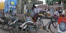 Rickshaw (Modo de Transporte ), India