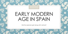 Early Modern Age in Spain, The Explorers