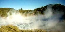 Lago Fry Pan, vista elevada, Nueva Zelanda