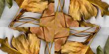 Disposición simetrizada en aspa
