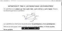 TEMA 13. LAS FIGURAS PLANAS. LOS CUADRILÁTEROS