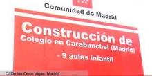 Arranca la construcción del segundo colegio público en el PAU de Carabanchel