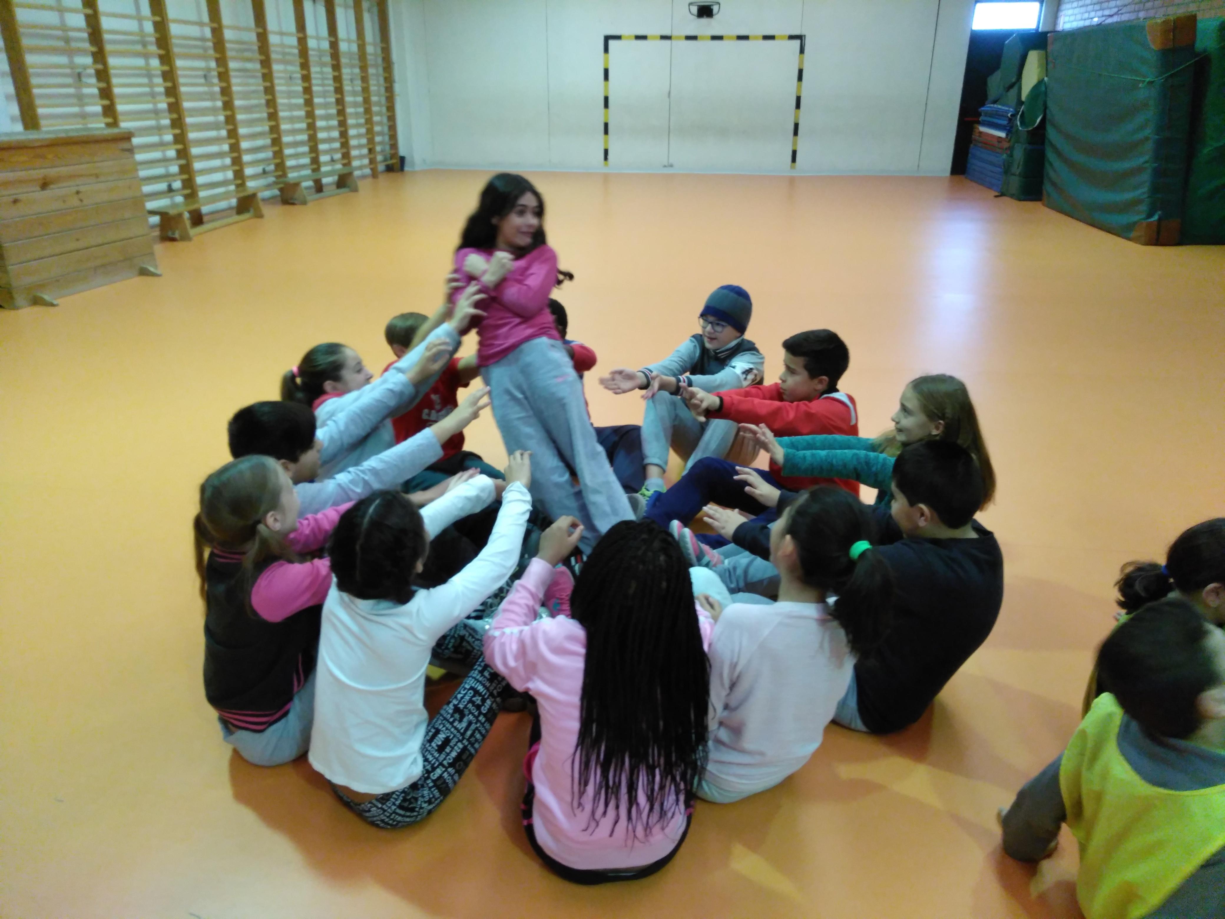 Convivencia en Educación física 13