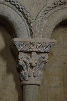 Capitel de estilo clásico, Huesca
