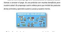 Yoga para la clase de Educación Física en casa CEIP El Peralejo
