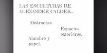 INFANTIL - 5 AÑOS - ALEXANDER CALDER - FORMACIÓN