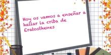 PRIMARIA 6º - CRIBA DE ERASTOTENES - MATEMÁTICAS - FORMACIÓN