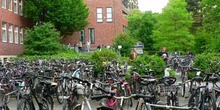 Entrada a la Universidad de Muenster, Alemania