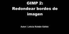 GIMP 2: Redondear bordes de una imagen