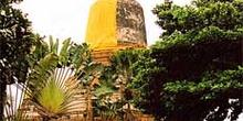 Templo decorado, Chiang Mai, Tailandia