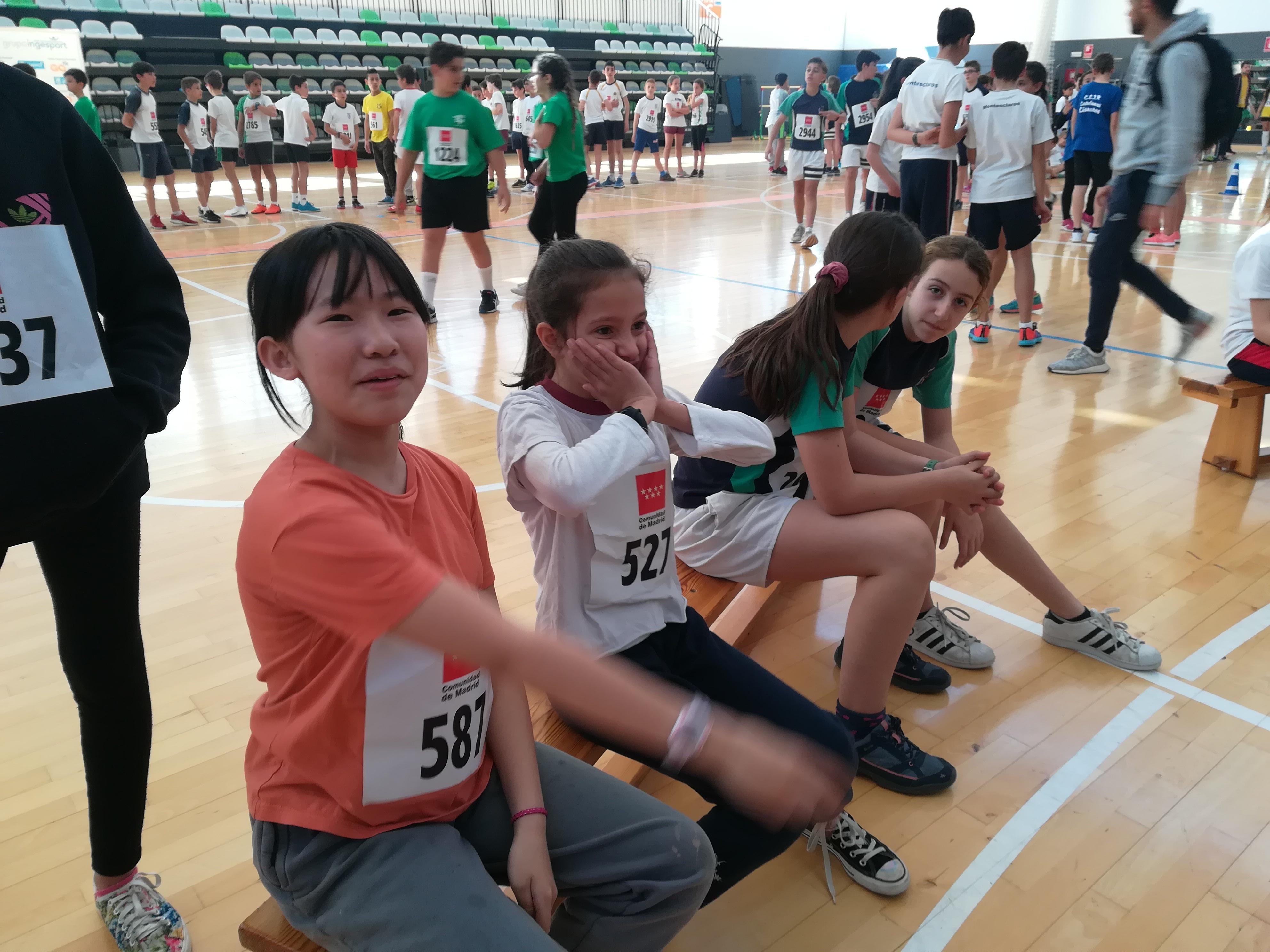 Encuentro de Atletismo 5º y 6º LUIS BELLO 5