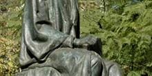Estatua de Gabriel y Galán, Paseo de Cánovas, Cáceres