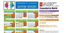 Calendario Curso 2019/20