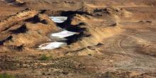 Pozas salinas, Rep. de Djibouti, áfrica