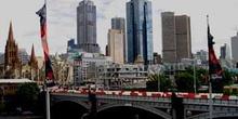 Melbourne desde el Concert Hall, Australia