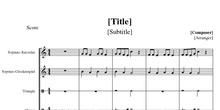 Partitura Raul´s song